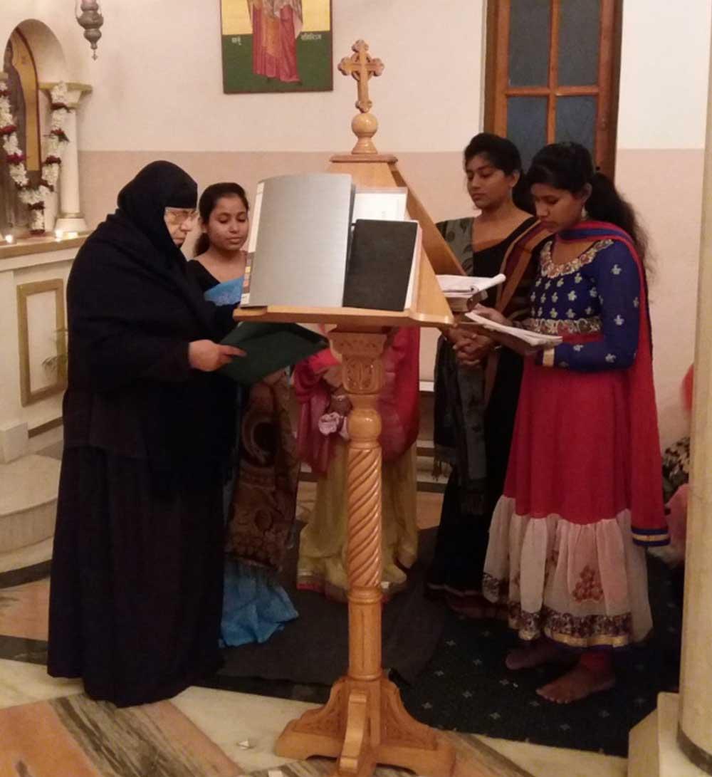 Κυριακή της Ορθοδοξίας στο Ορφανοτροφείο στην Καλκούτα